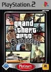 Grand Theft Auto: San Andreas Platinum (PS2)